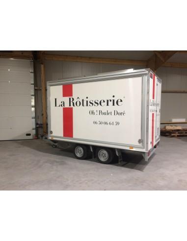 "Remorque rôtisserie 330 ""La Rôtisserie"""