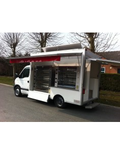 Camion rotisserie renault master