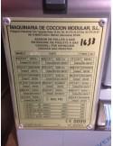 Rôtissoire MCM gaz 6EG 36 poulets