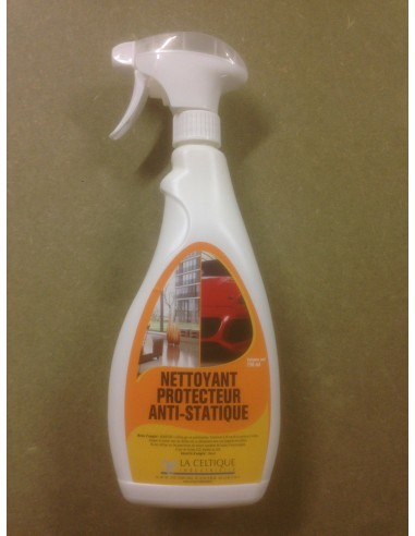 Nettoyant protecteur anti-statique