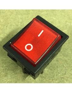 Interrupteur MCM rouge...